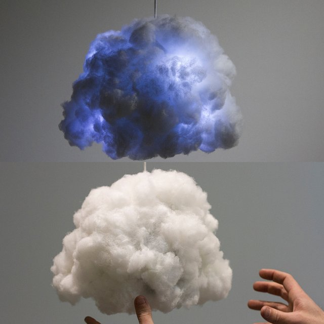 Tiny Cloud by Richard Clarkson Studio