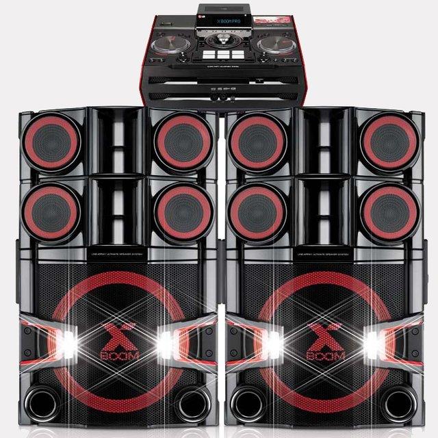Hi-Fi DJ Shelf System by LG Electronics