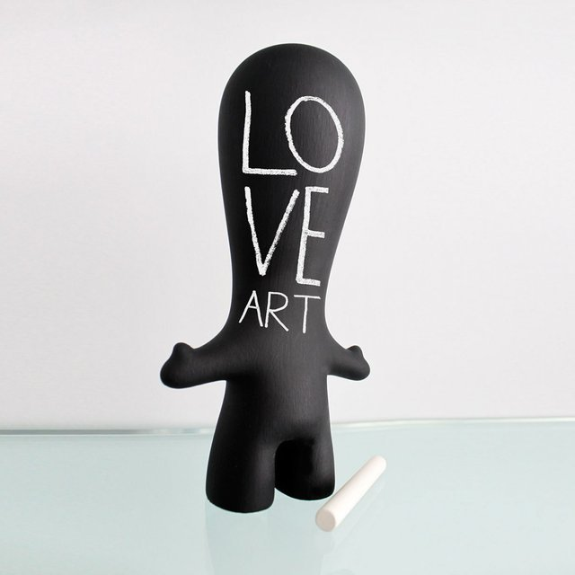 bLANK Art Toy by Artbeat