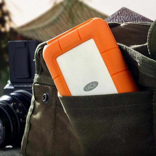 LaCie Rugged 1TB Portable Hard Drive