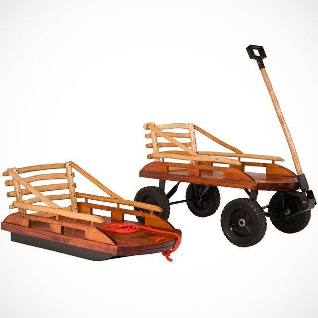 Grasshopper Convertible Sled / Wagon