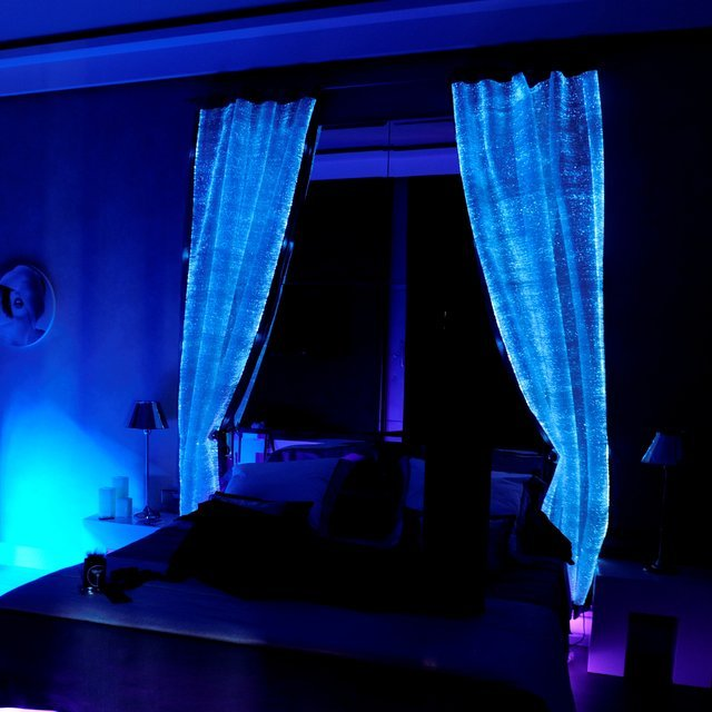 Fiber Optic Curtains by LumiGram