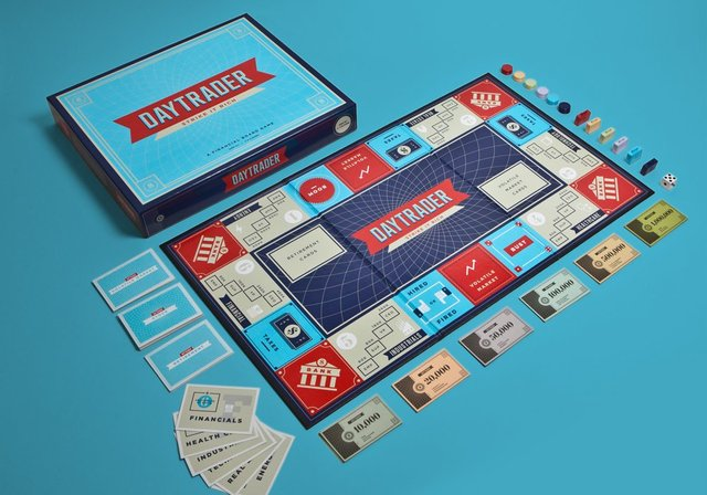 Daytrader Board Game