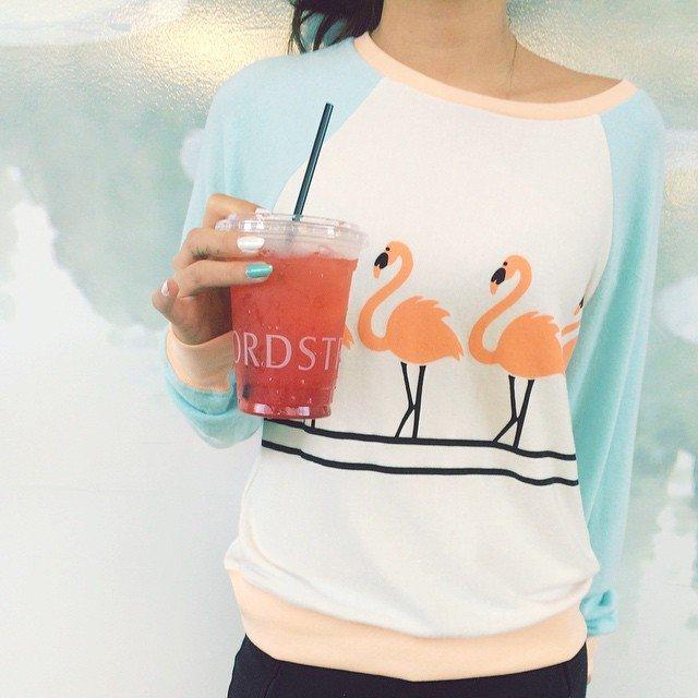 Dancin' Raglan Sweatshirt by Wildfox
