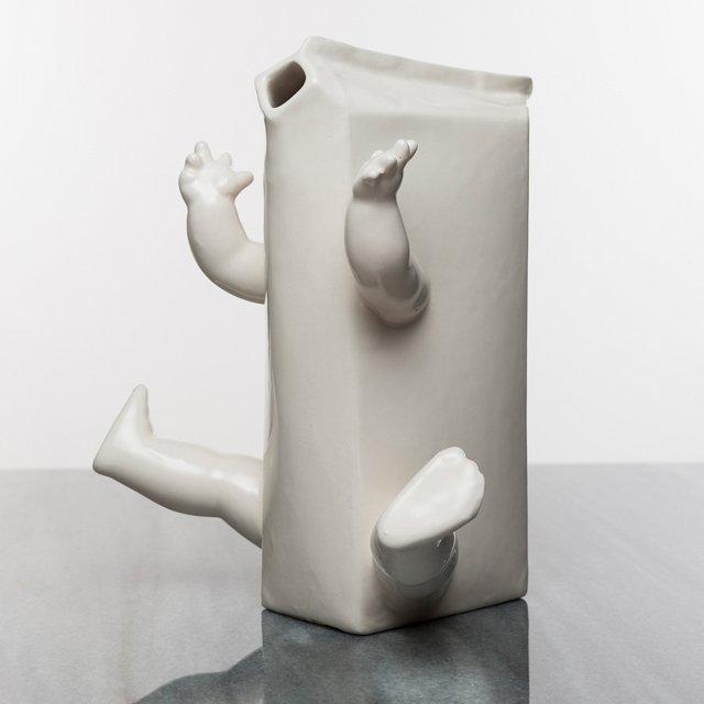 Arms & Legs Milk Carton Pitcher by Krasznai