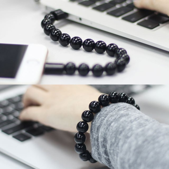 Bead Bracelet Lightning Cable