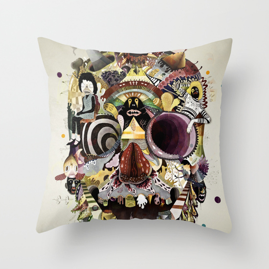 Pick Me Up Throw Pillow by Mathis Rekowski