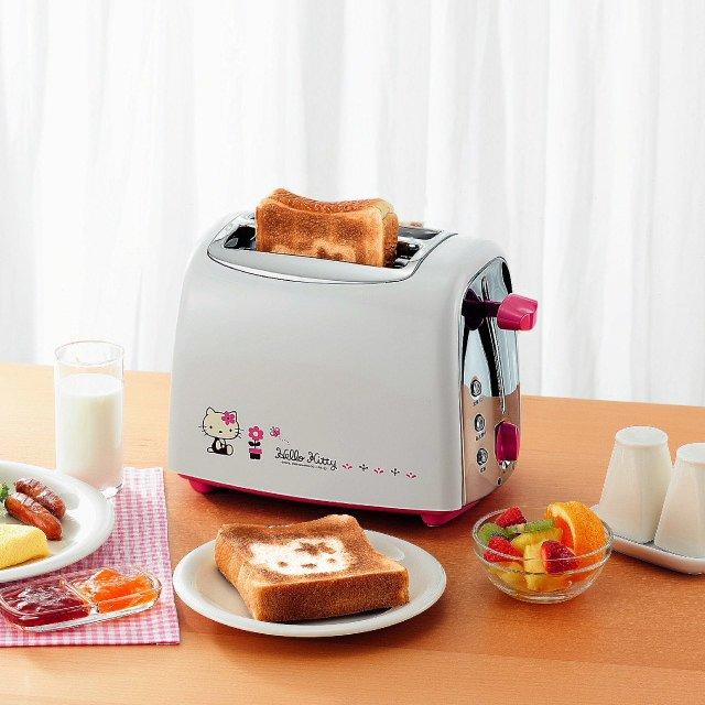 Hello Kitty Pop Up Toaster