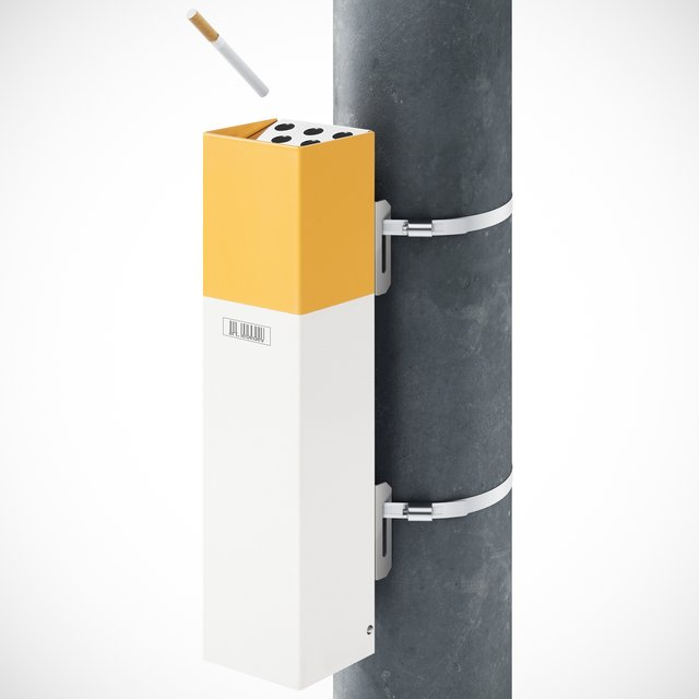 pepelkus 20 outdoor cigarette receptacle