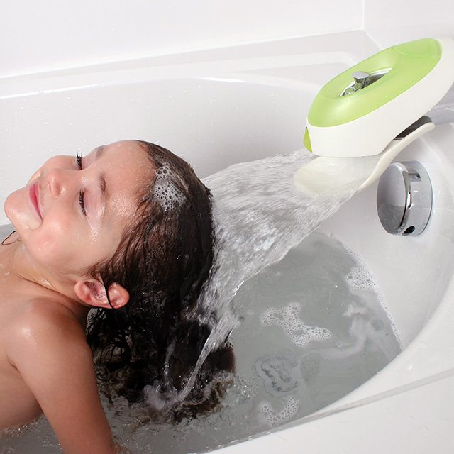 Boon Flo Water Deflector & Bubble Bath Dispenser