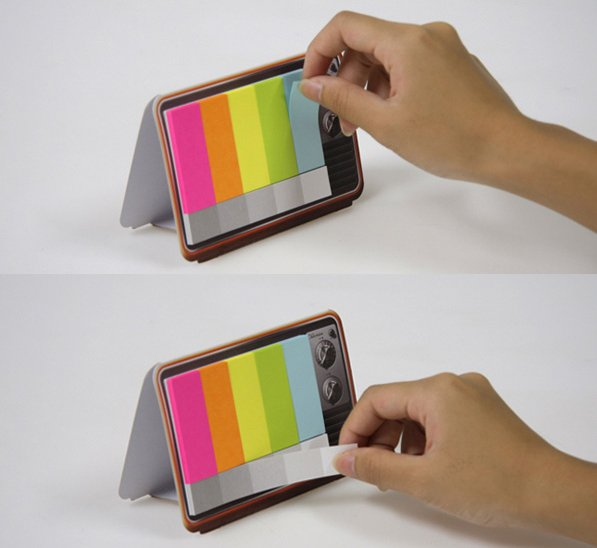 Mini It Color TV Memo Pad