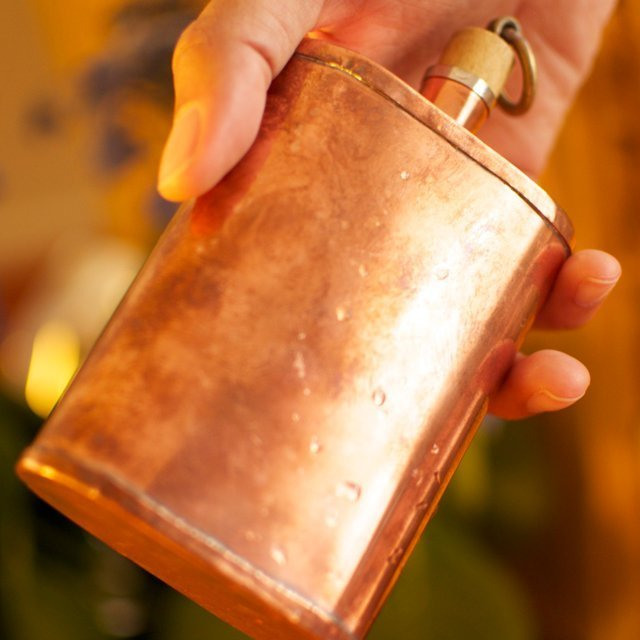 Handmade Copper Flask