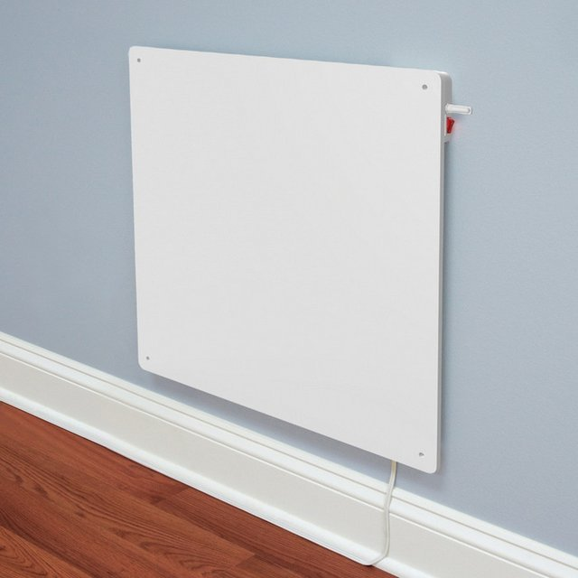 Wall-Mounted Panel Heater with Built-in Thermostat