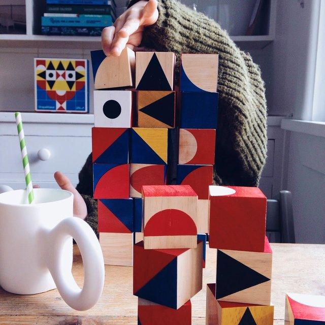Mini ShapeMaker Block Set by Miller Goodman