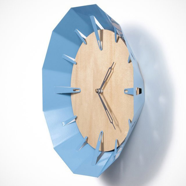 Caldera Wall Clock by Schmitt Design