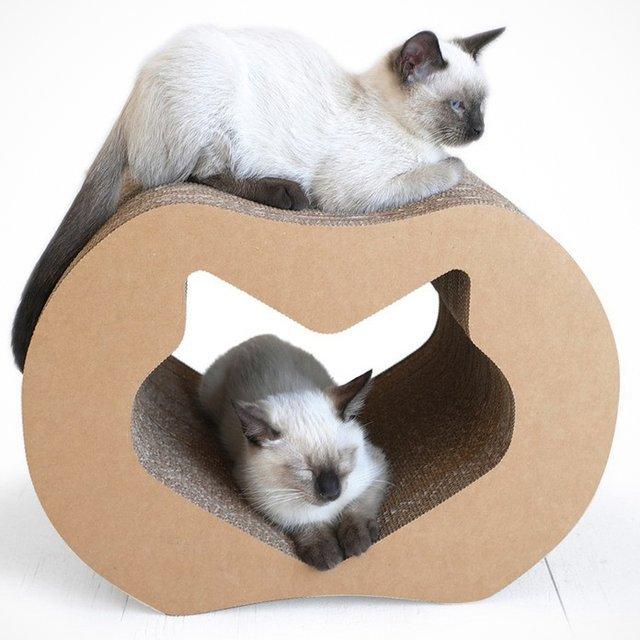 Kittypod Mini Cardboard Scratching Post