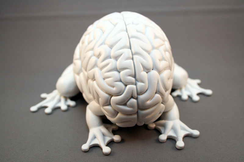 umping Brain Designer Vinyl Figure