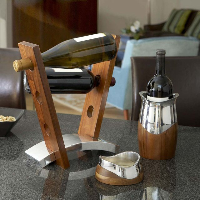 Joust Wine Rack by Nambé