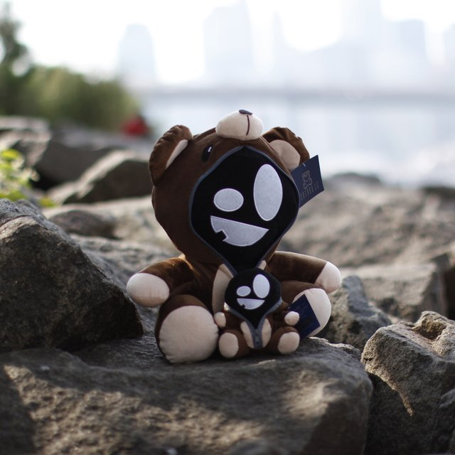 Misunderstood Teddy Plush Doll by Entree LS