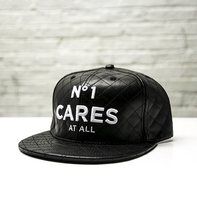 No1 Cares Quilted Leather Cap