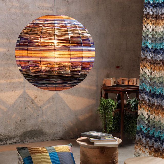 Thea Kuta Suspension Lamp by Missoni Home