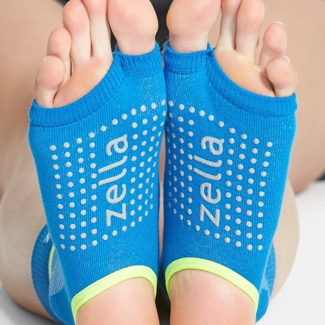 Half Toe Barre Socks by Zella