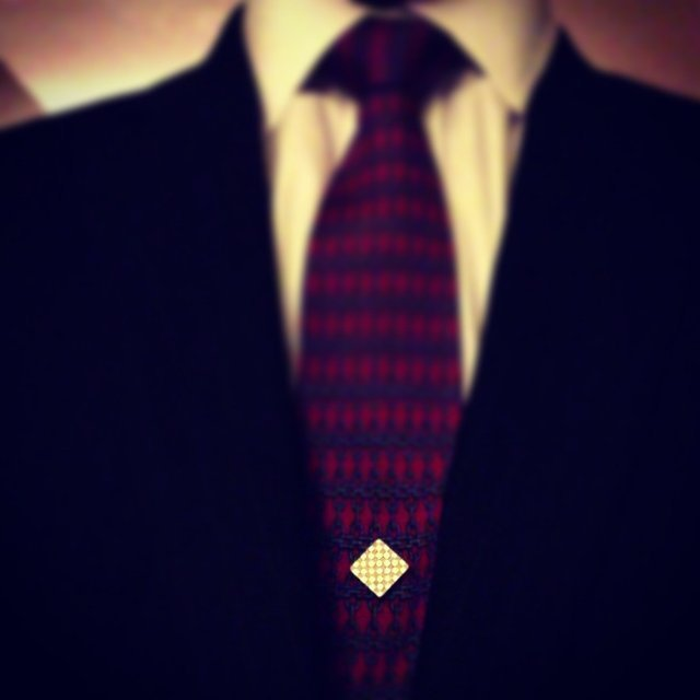 Silver Checkmate Magnetic Tie Pin by Tie Mags