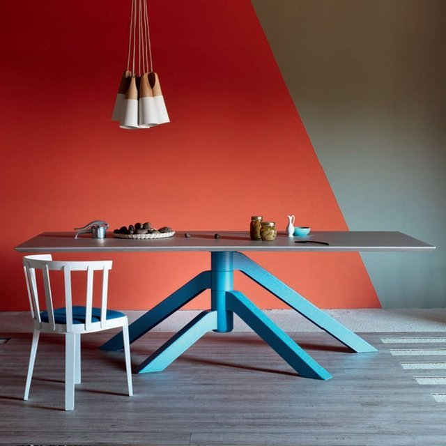 Blue Keplero Table