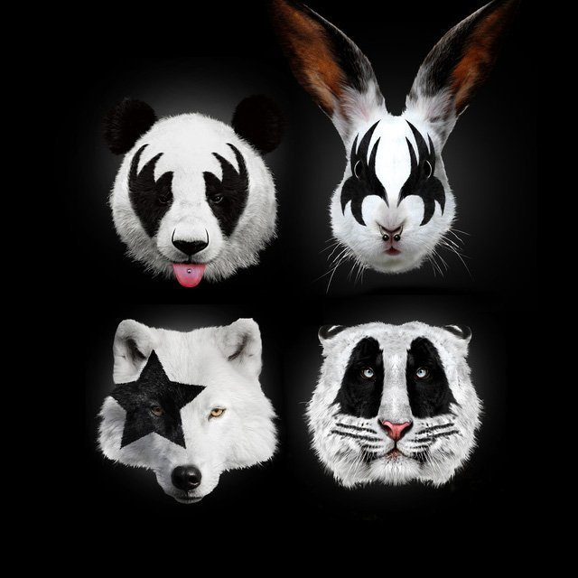 Róbert Farkas Kiss of Animals Poster