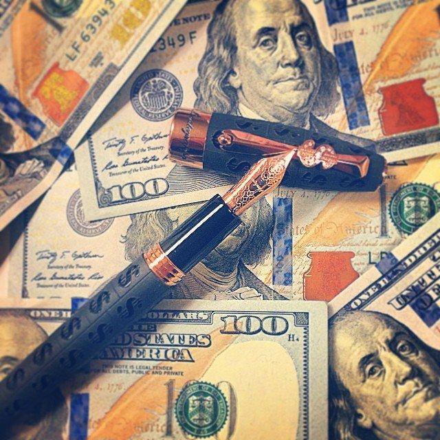 Fotuna Cash Fountain Pen by Montegrappa