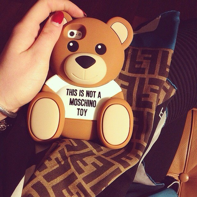 Bear iPhone 6 Case by Moschino