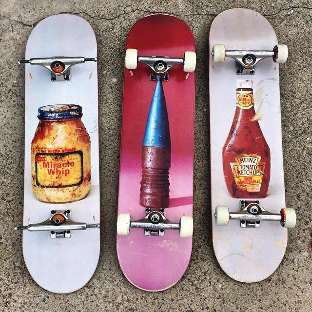Skateboard Decks by Paul McCarthy