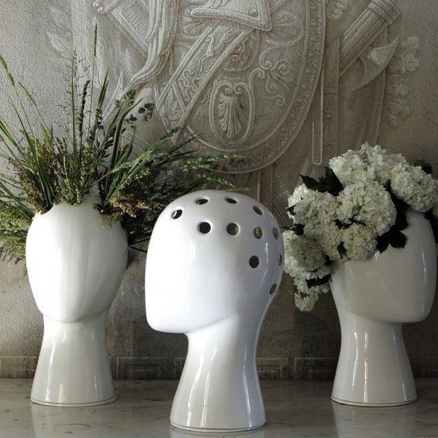 The Wig Vase by Tania da Cruz