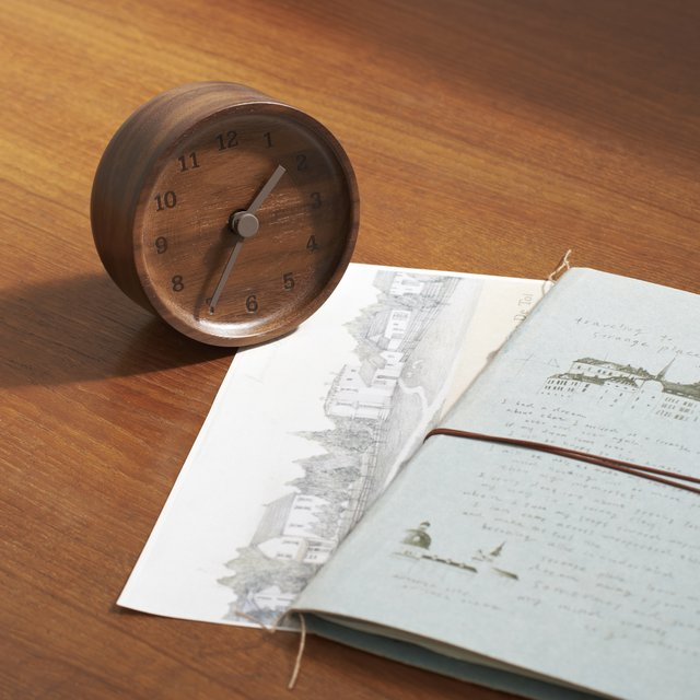 Lemnos Muku Wooden Desktop Clock
