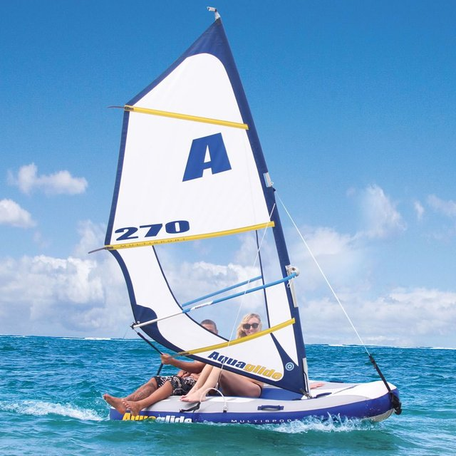 Inflatable Windsurfer & Sailboat