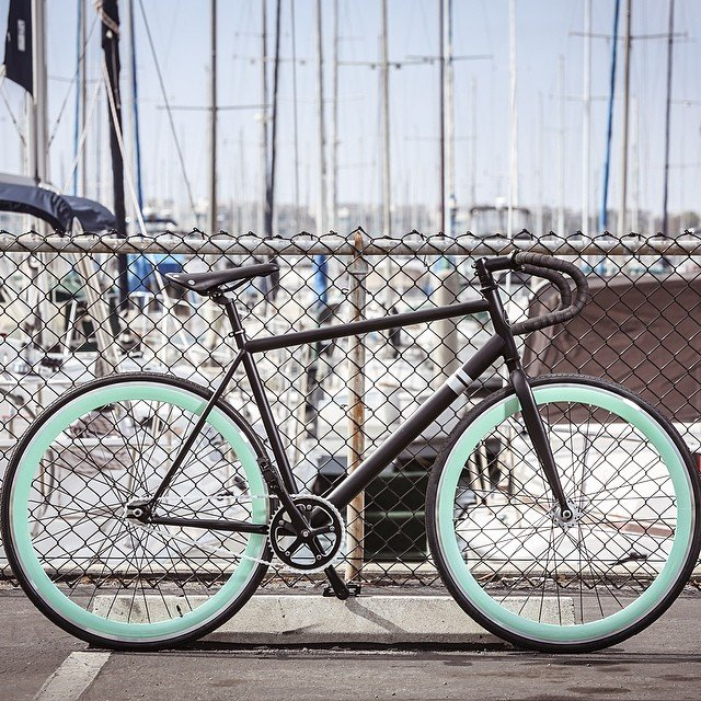 Foamside Fixed Gear Bicycle by Sole Bicycles
