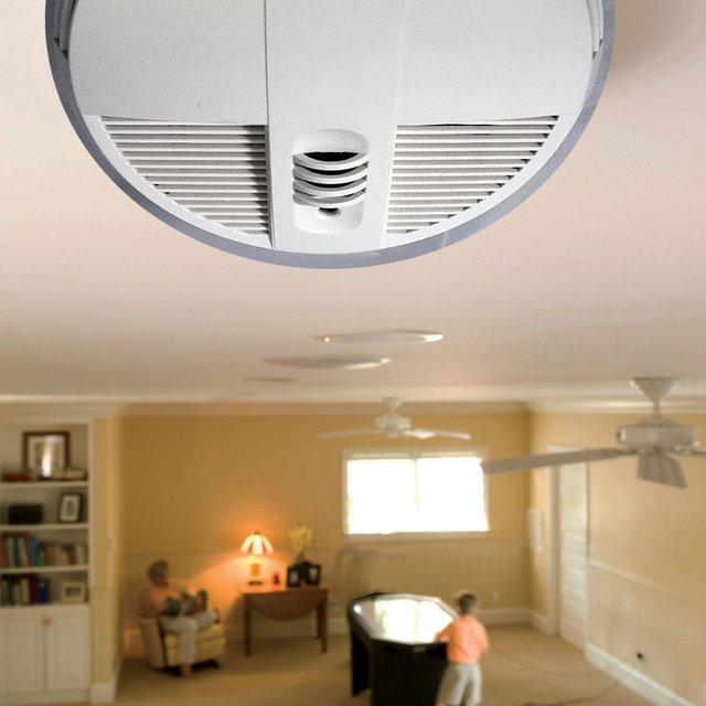 Night Vision Smoke Detector Hidden Camera