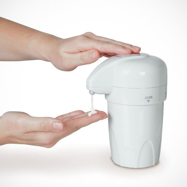 Heated Lotion Dispenser