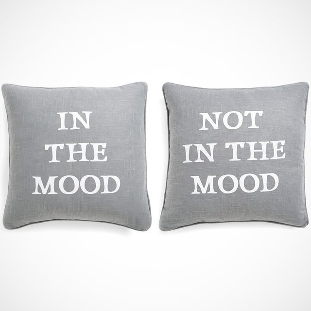 Reversible Mood Pillow