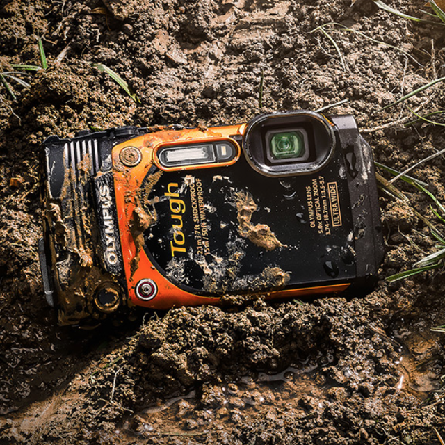 Olympus Stylus Tough TG-860 Rugged Camera