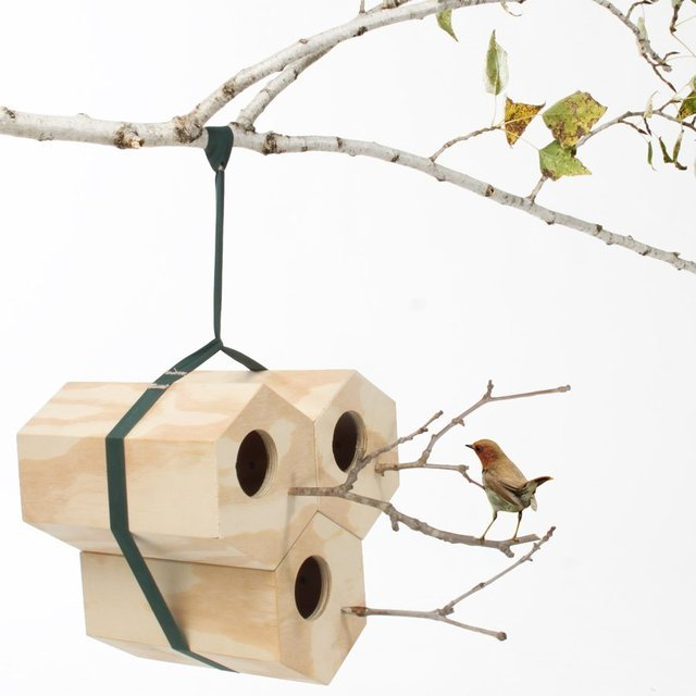 NeighBirds Modular Birdhouse by Utoopic