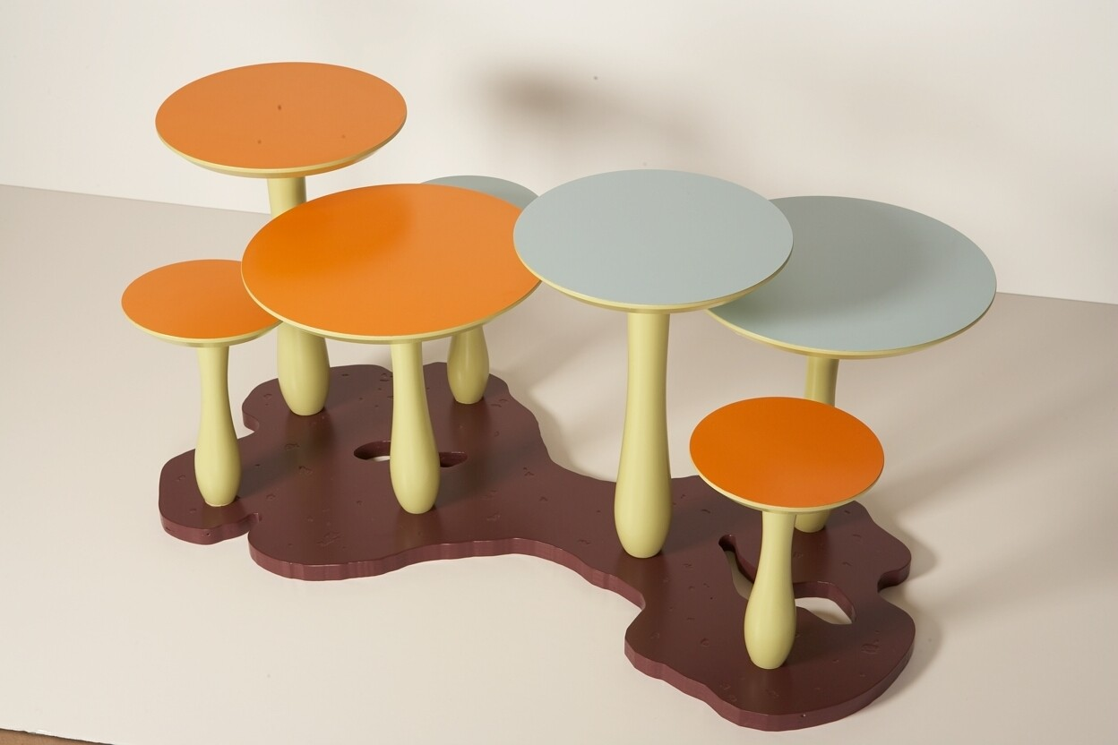 Mushroom Coffee Table by Thomas Wold