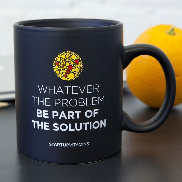 Be Part of the Solution Mug