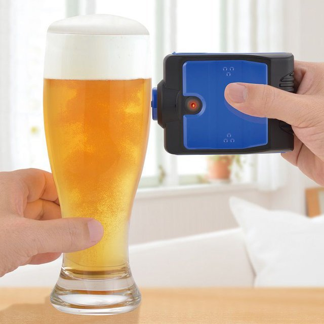 Portable Beer Foam Head Generator
