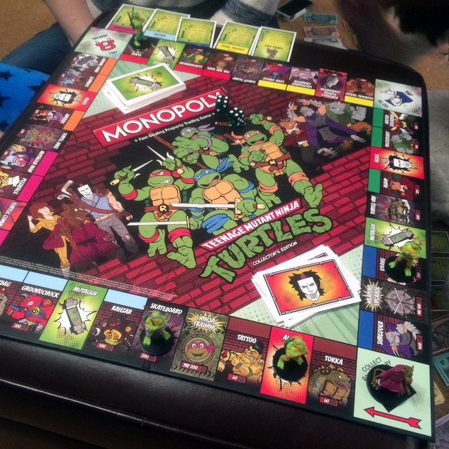 Teenage Mutant Ninja Turtles Collector's Edition Monopoly