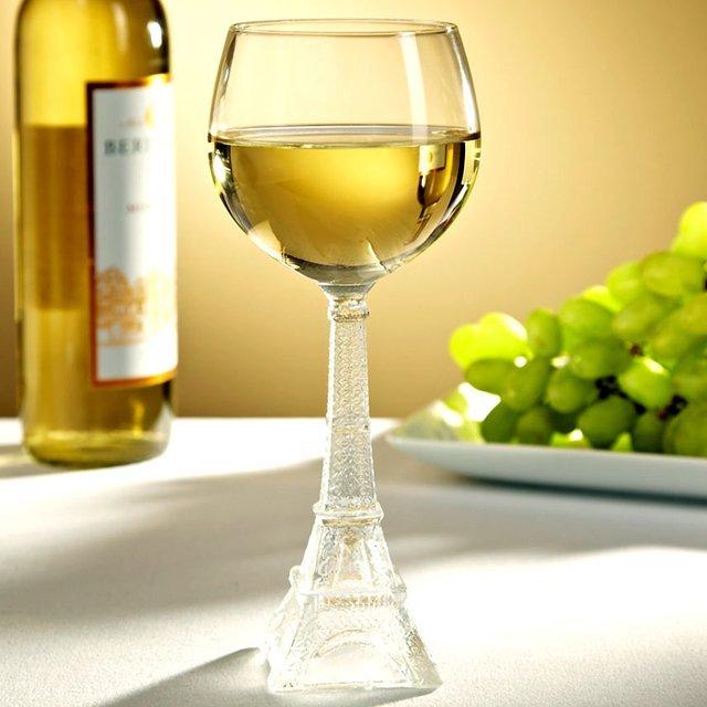 Eiffel Tower Wine Glass