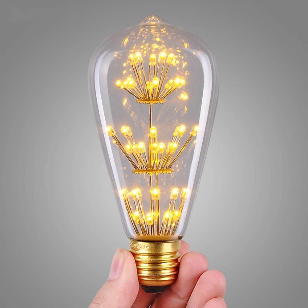 LED Edison Squirrel Cage Bulb