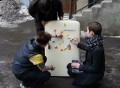 Multiplayer Tetris Magnet Set