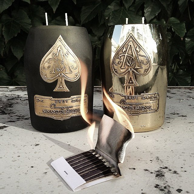 Recycled Ace NOIR Candle