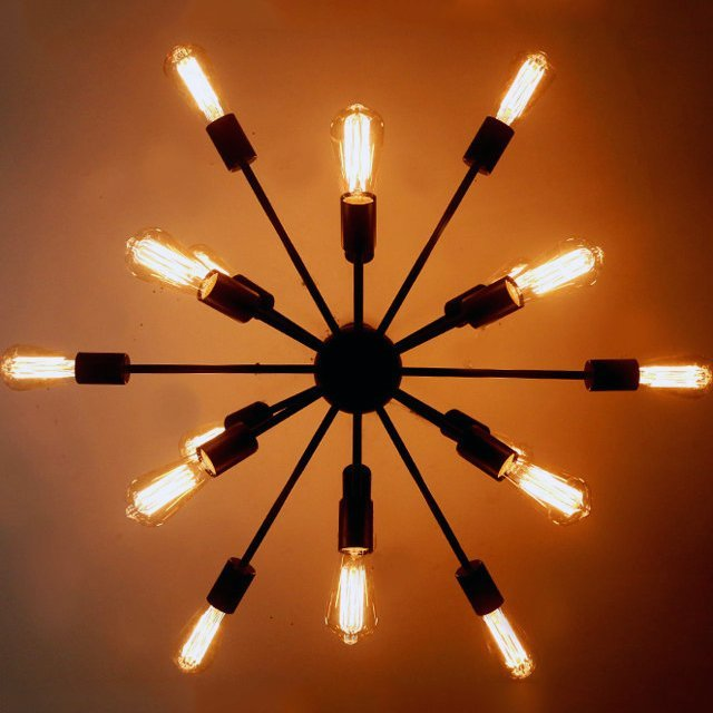 Firework Chandelier by Light with Shade